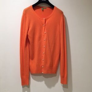 United Colors of Benetton coral cardigan